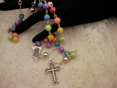Color Beaded Rosaries