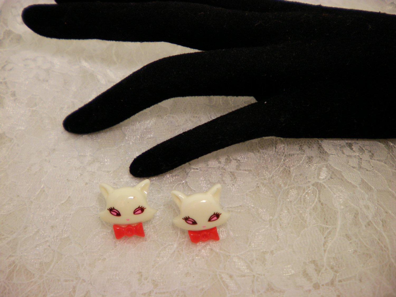 Kitty Cat Post Earrings