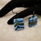 Blue Murano Glass Earrings Choose Your Color