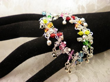 Shaggy Crystal Bracelet