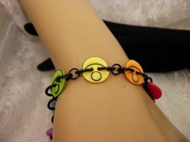 Connected Button Bracelet