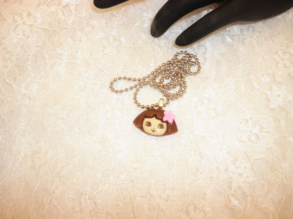 Dora The Explorer Pendant Necklace