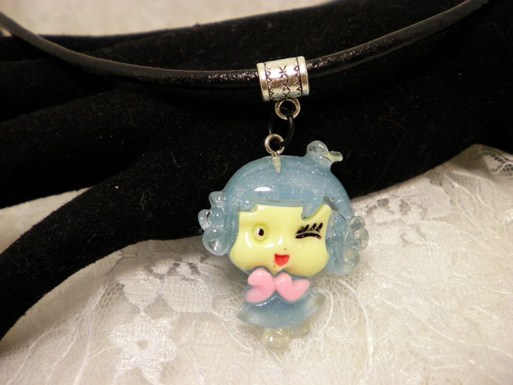 Cute Resin Girly Charm Necklace