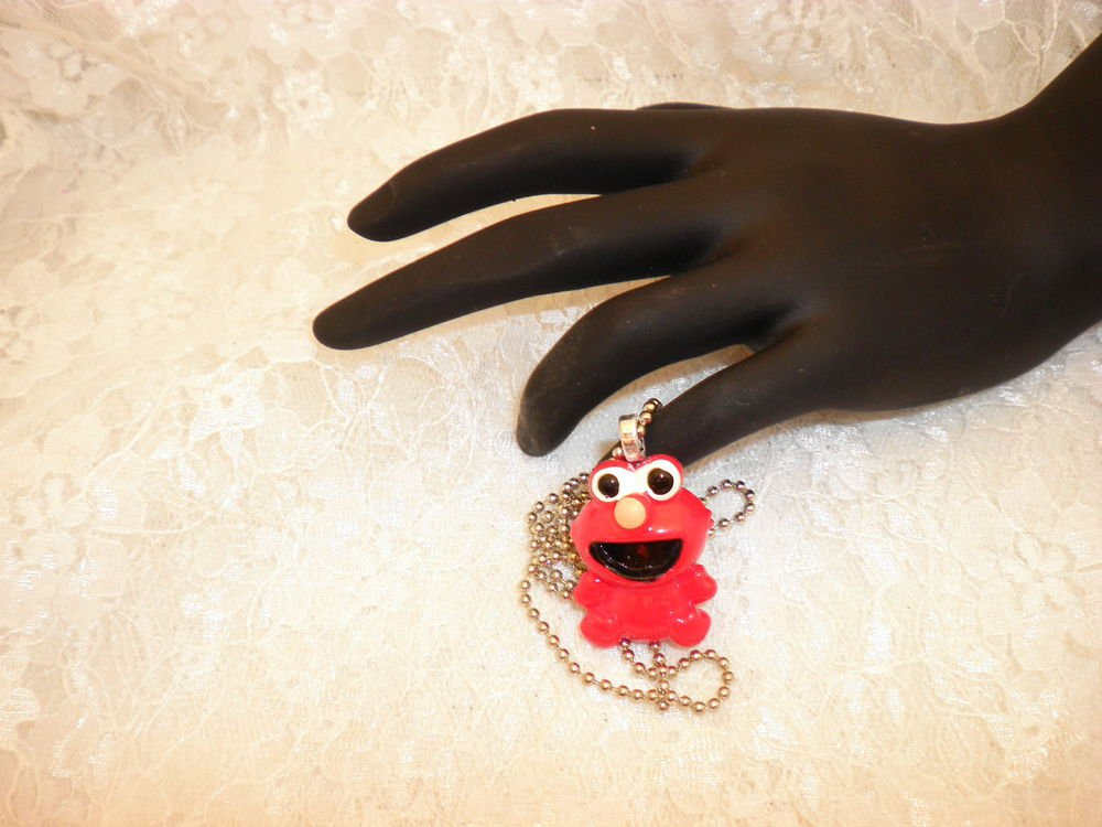Elmo Pendant Necklace Choose From Two Styles