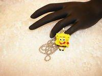Sponge Bob Pendant Necklace