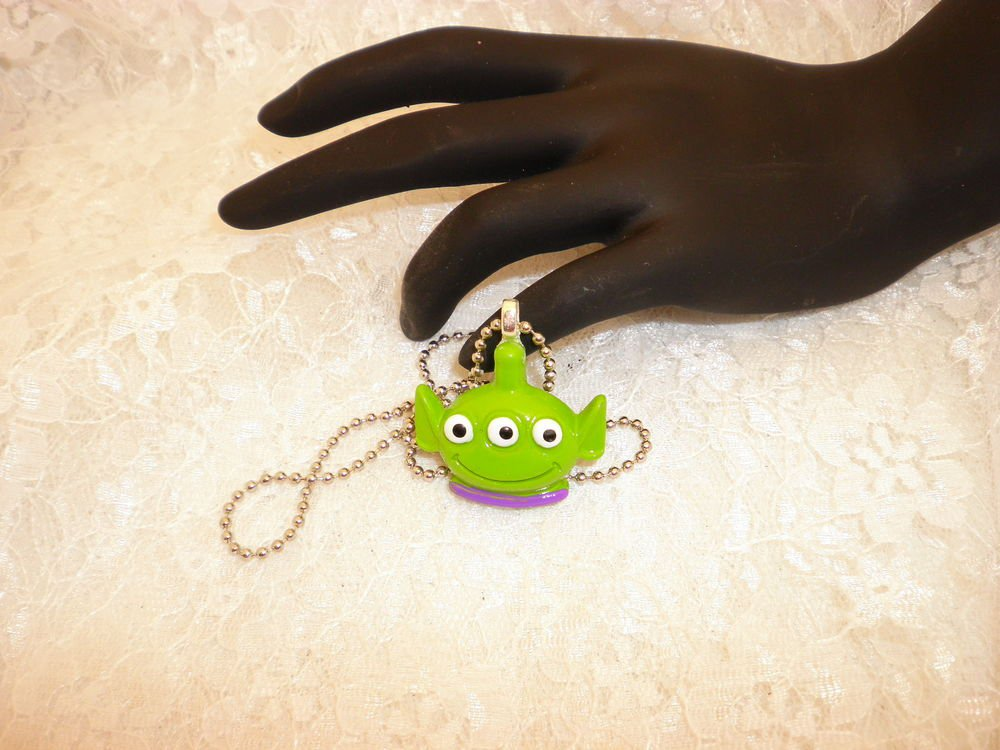 Alien Toy Story Charm Pendant Necklace