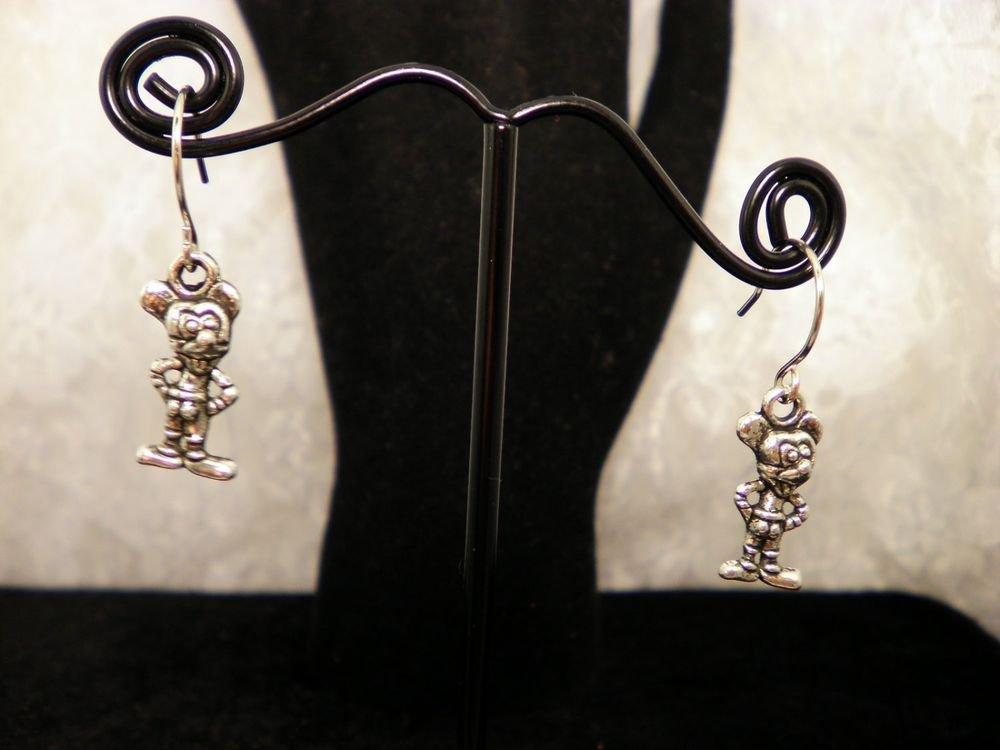 Cute Mickey Mouse Charm Earrings