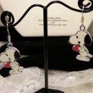 Snoopy Charm Earrings