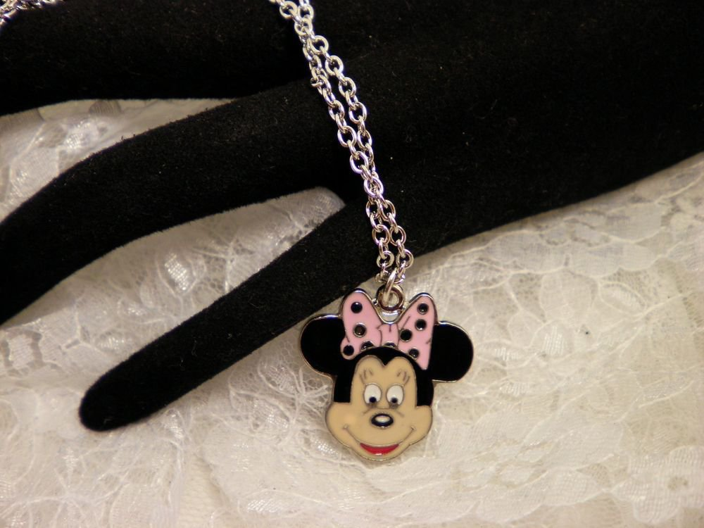 Minnie Mouse Charm Necklace
