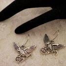 Cool Eagle Charm Earrings