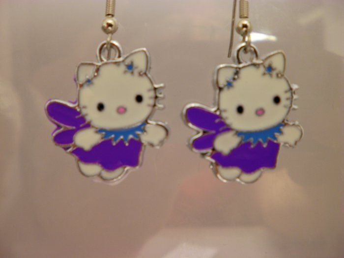 Hello Kitty Charm Earrings