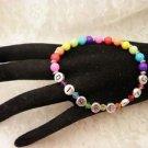 Custom  Made Colorful Diabetic Or Survivor ALERT Bracelet Choose Your Color
