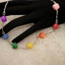Rainbow Dice Necklace ( Gay Pride Jewelry)