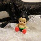 "Resin 3 D Kewpi Doll "" Planet Boy"" Charm Pendant Necklace Kids Jewelry"