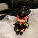 "Resin 3 D Kewpi Doll ""HERO: Charm 3D Pendant Cord Necklace Kids Jewelry"