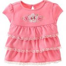 Love is in the Air Lace Trim Ruffle Top 12-18 mo