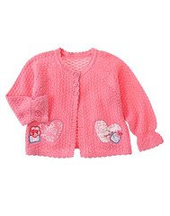 Love is in the Air Pink Sweater 18-24 mo