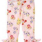 Love is in the air Flower Print Capri Legging sz 2T
