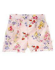 Love is in the Air Garden Flower Print Short sz 3-6 mo LN