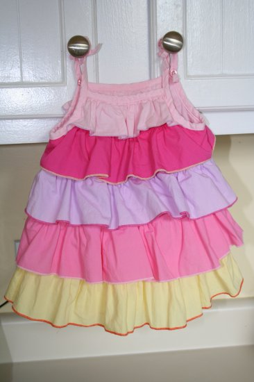 Children's Place Ruffle Dress LN 3-6 mo