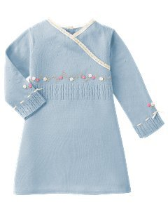 $13.00 Chelsea Girl Sweater Light Blue Cross-over Neckline 6-12 mo