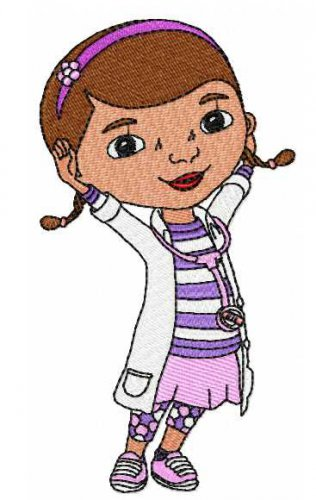 Doc McStuffins Lambie Dragon Stuffy 4 Digitized Machine Embroidery Designs Design Pack