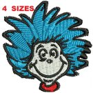 Thing Boy face 4 Sizes Included Digitized Filled Machine Embroidery Design Email Delivery Only