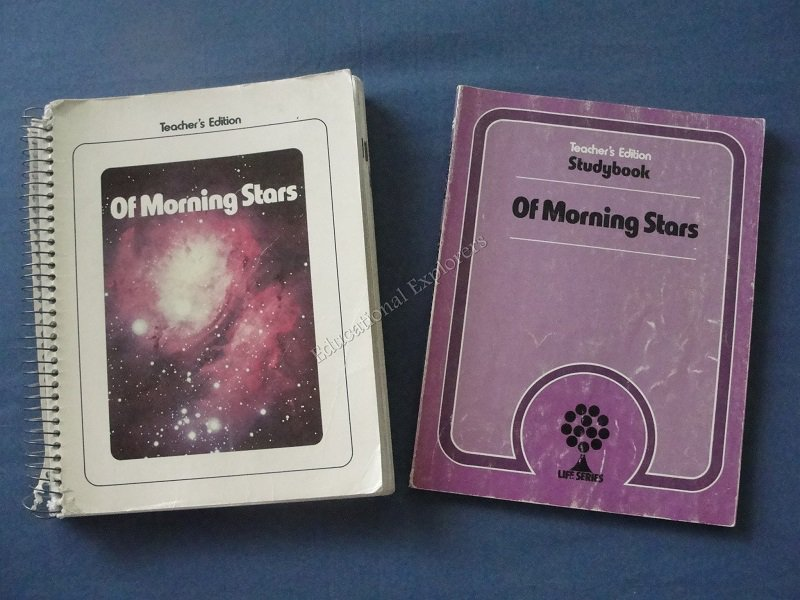 Of Morning Stars Teacher Edition and Studybook Life Series 7th Grade Level 13 SDA