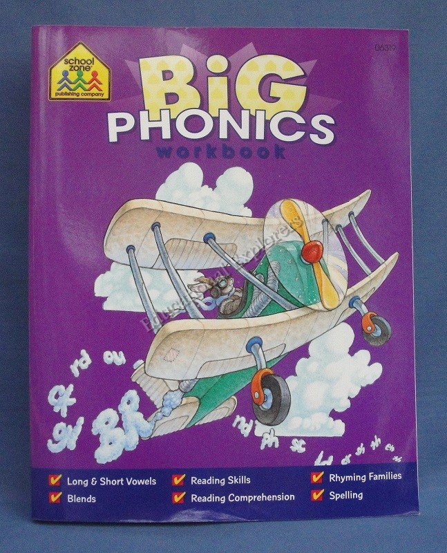 Big Phonics Workbook School Zone Publishing Company