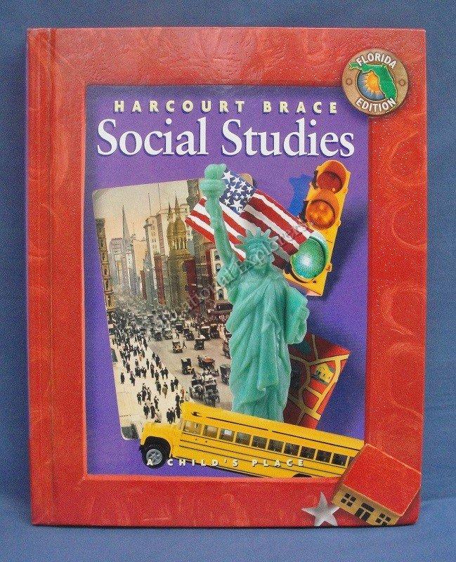 Hartcourt Brace Social Studies A Child's Place Florida Edition
