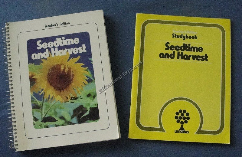 Seedtime and Harvest Teacher Edition and Studybook  Life Series 4th Grade Level 9 SDA