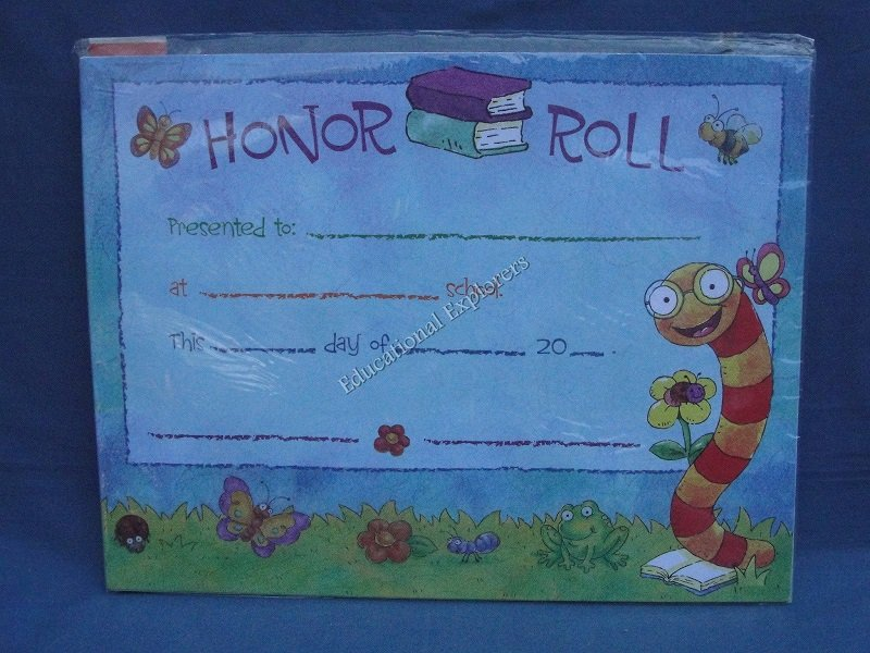 Honor Roll Certificates Teaching Tree 15 Certificates