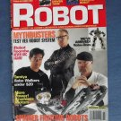 Robot Magazine Premier Issue Robotics Winter 2005