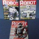 Robot Magazines Robotics Summer Fall Winter 2007