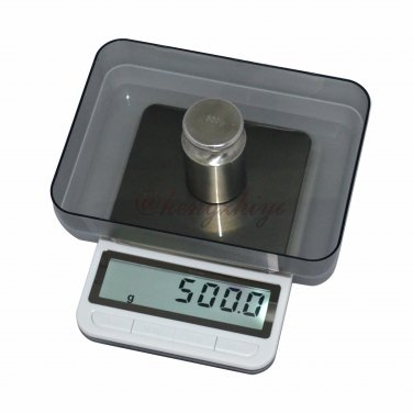 New 5kg x 0.2g Electronic Precision Kitchen Scale w Big LCD & Platform + Counting, Free Shipping