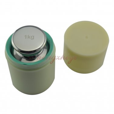 F1 Class 1kg 304 Stainless Steel Scale Balance Calibration Weight w Case 1000g, Free Shipping