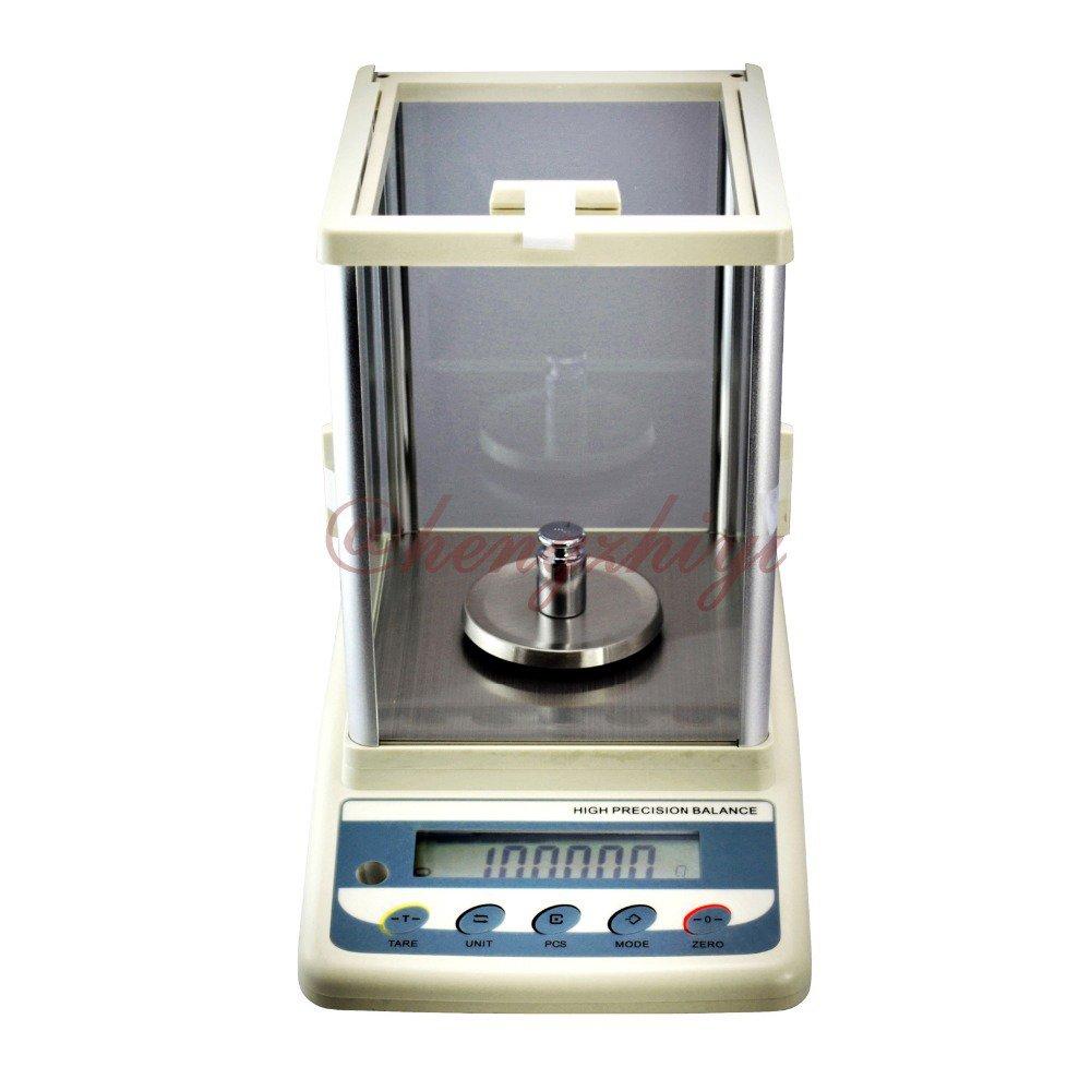 1500carat x 0.005carat Table Top Balance + Shield + German Sensor + RS232 Interface + Weights 456