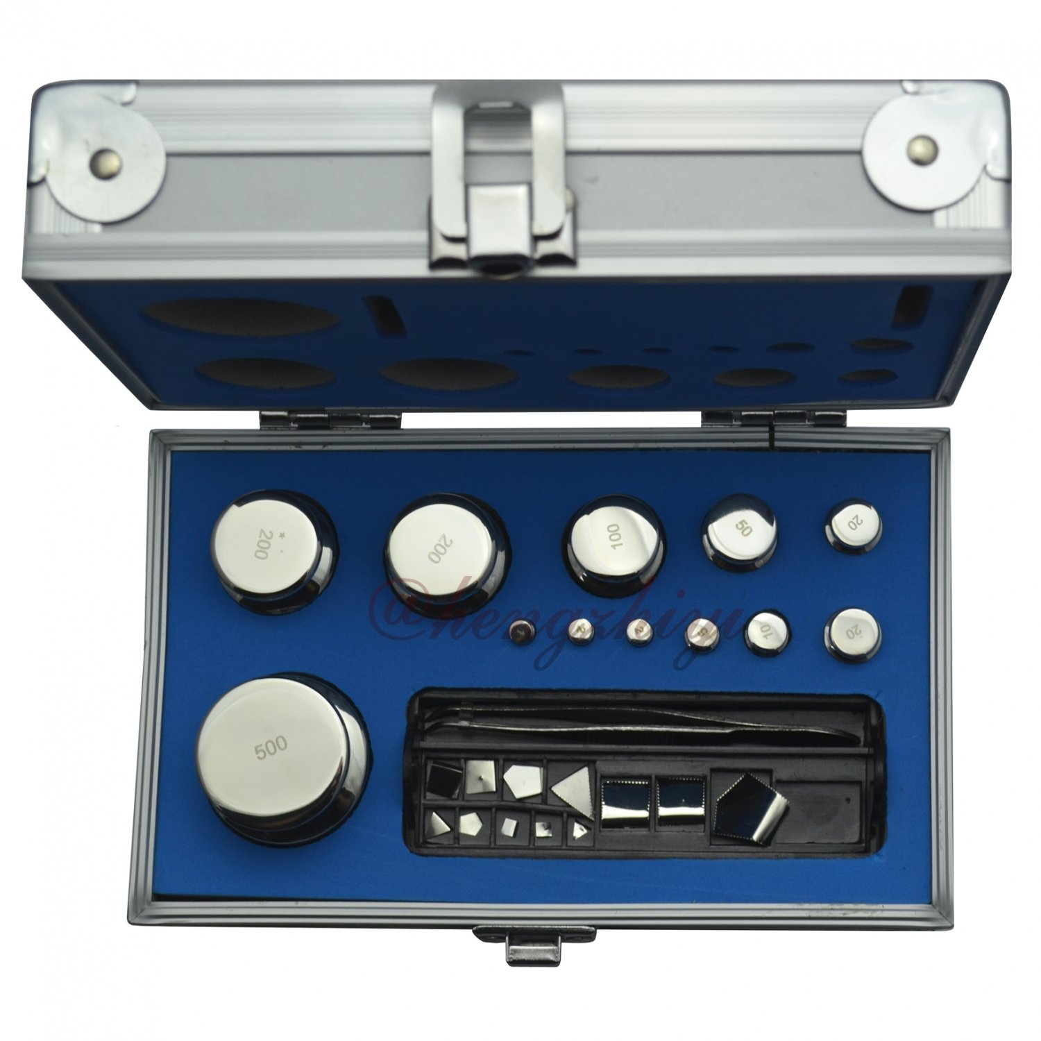 M1 Grade 1mg-500g Stainless Steel Scale Calibration Weight Kit Set, 24PCS Inside, Free Shipping