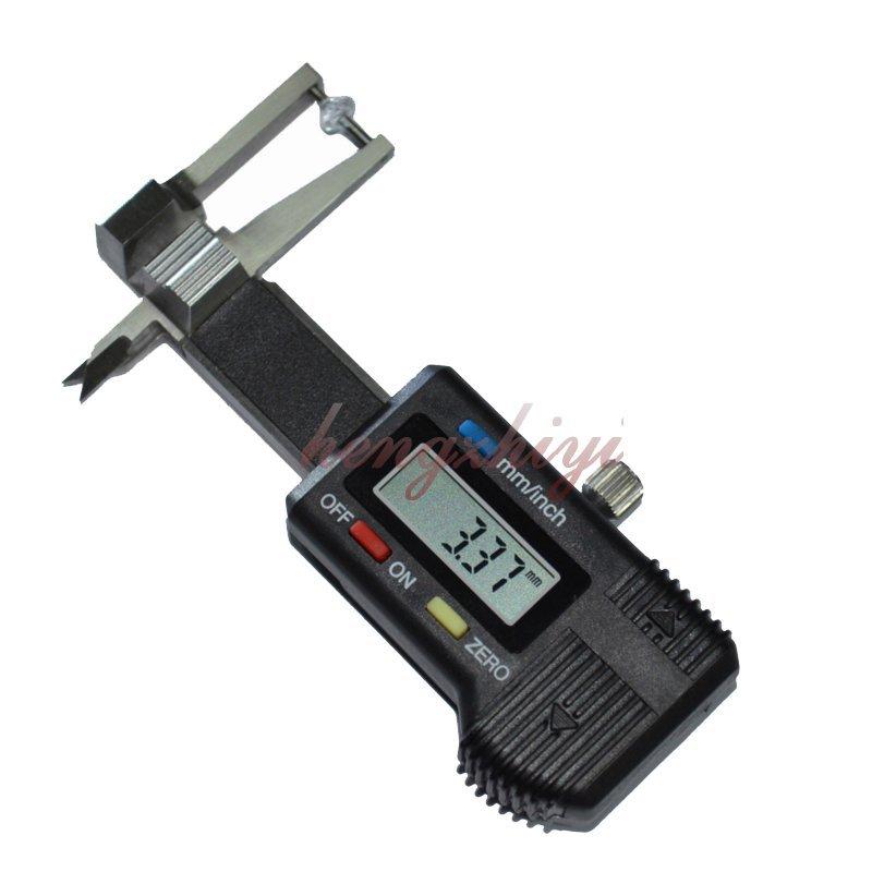 Mini 0-25mm Precision Digital Jewel Gem Thickness Gauge Caliper w 0.01mm Reading, Free Shipping