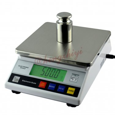 5kg x 0.1g Electronic Precision Kitchen Baking Scale Table Top Balance w Counting, Free Shipping