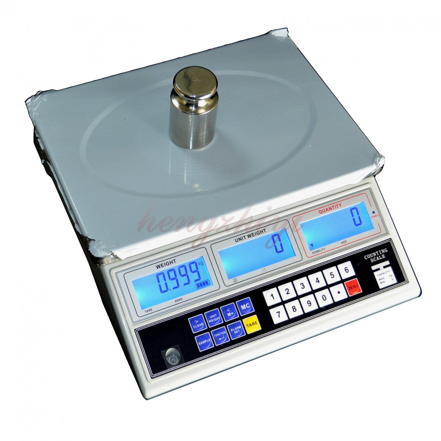 15kg x0.5g Precision Digital Counting Parts Scale, Table Top Weighing Balance, Free Shipping