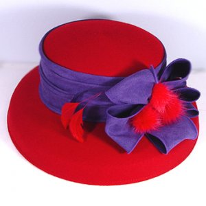 Wool Red Hat