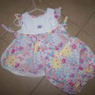 two pc. boutique floral outfit EUC      $3