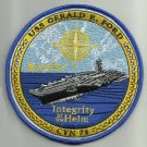 CVN - 78 USS Gerald R. Ford Lead Ship Supercarrier Ship Military Patch