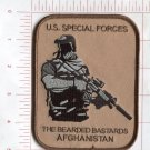 U.S. SPECIAL FORCES-THE BEARDED BASTARDS AFGHANISTAN - MILITARY,MORALE PATCH