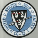 US NAVY USS HALSEY CG-23 GUIDED MISSILE CRUISER SHIP MILITARY PATCH