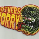 "OFFICIALLY LICENSED ED ""BIG DADDY"" ROTH RAT FINK MOTHERS WORRY HOT ROD PATCH"