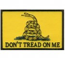 DON'T TREAD ON ME GADSDEN FLAG TACTICAL BADGE MORALE VELCRO MILITARY PATCH