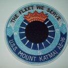 USS Mount KATMAI (AE 16) AMMUNITION SHIP MILITARY PATCH