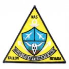 US NAVAL AIR STATION NAS FALLON NEVADA MILITARY PATCH BIGGEST LITTLE AIR STATION